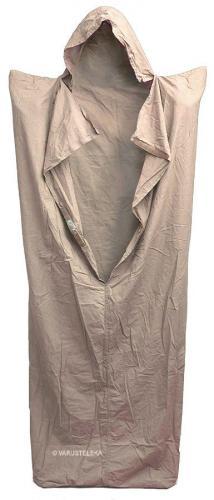 Brittiläinen makuupussin sisäpussi, khaki, ylijäämä