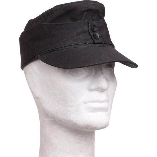 Mil Tec Moleskin Field Cap Black Varusteleka Com