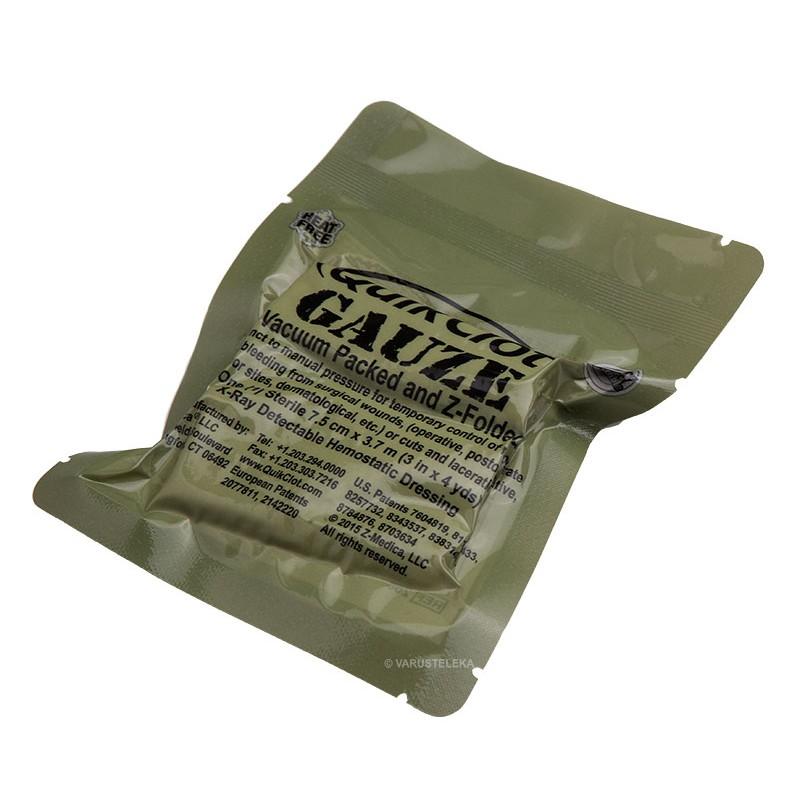 QuikClot Combat Gauze Z-fold hemostaattiside - Varusteleka.fi d6fd471cee